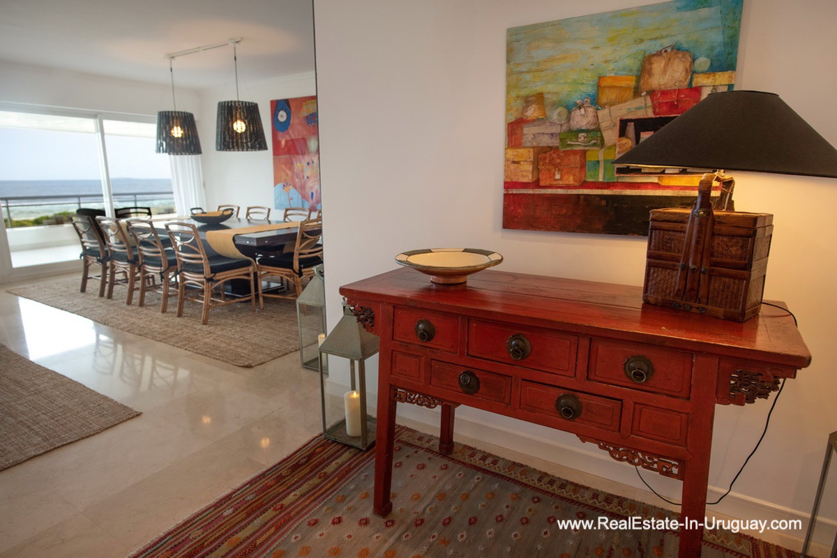 Entrance of Spacious Apartment on the Brava in Punta del Este