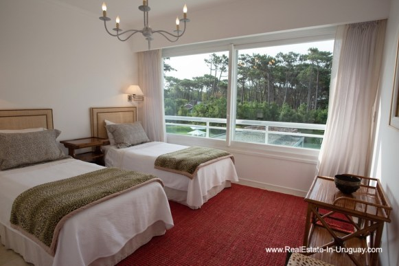 Guest Bedroom of Spacious Apartment on the Brava in Punta del Este