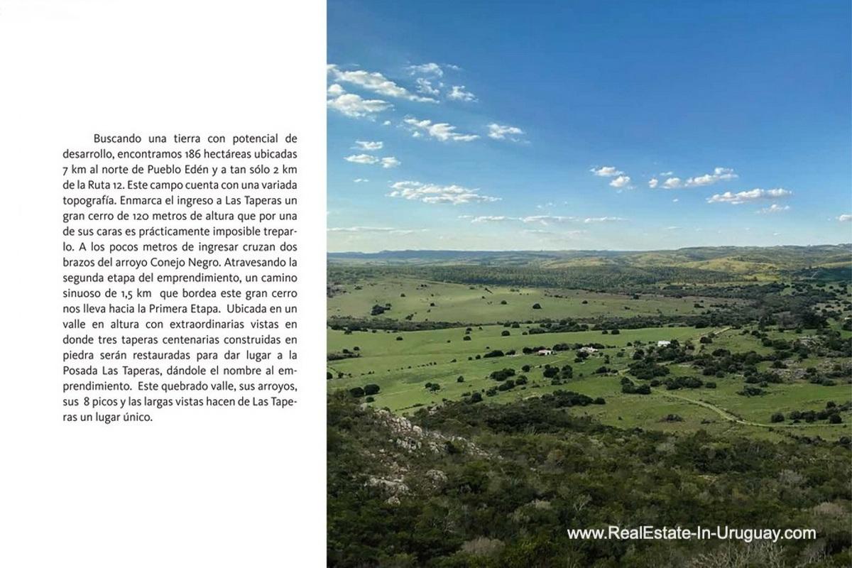 Description of New Gated Community near Pueblo Eden is Selling Plots