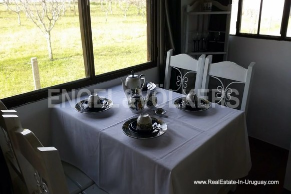 Dining of Farm with Organic Garden near Wineries in Canelones