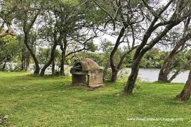 Garden Estancia along the Jose Ignacio River