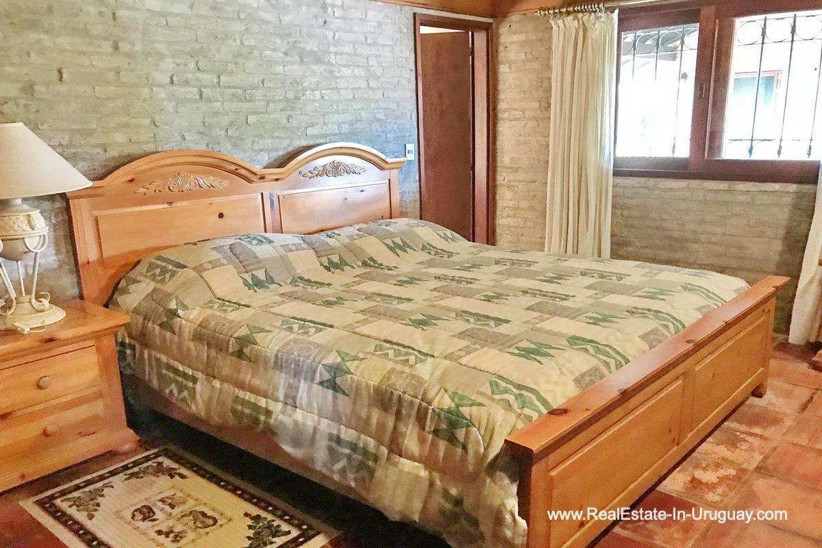 Master Bedroom of Estancia along the Jose Ignacio River