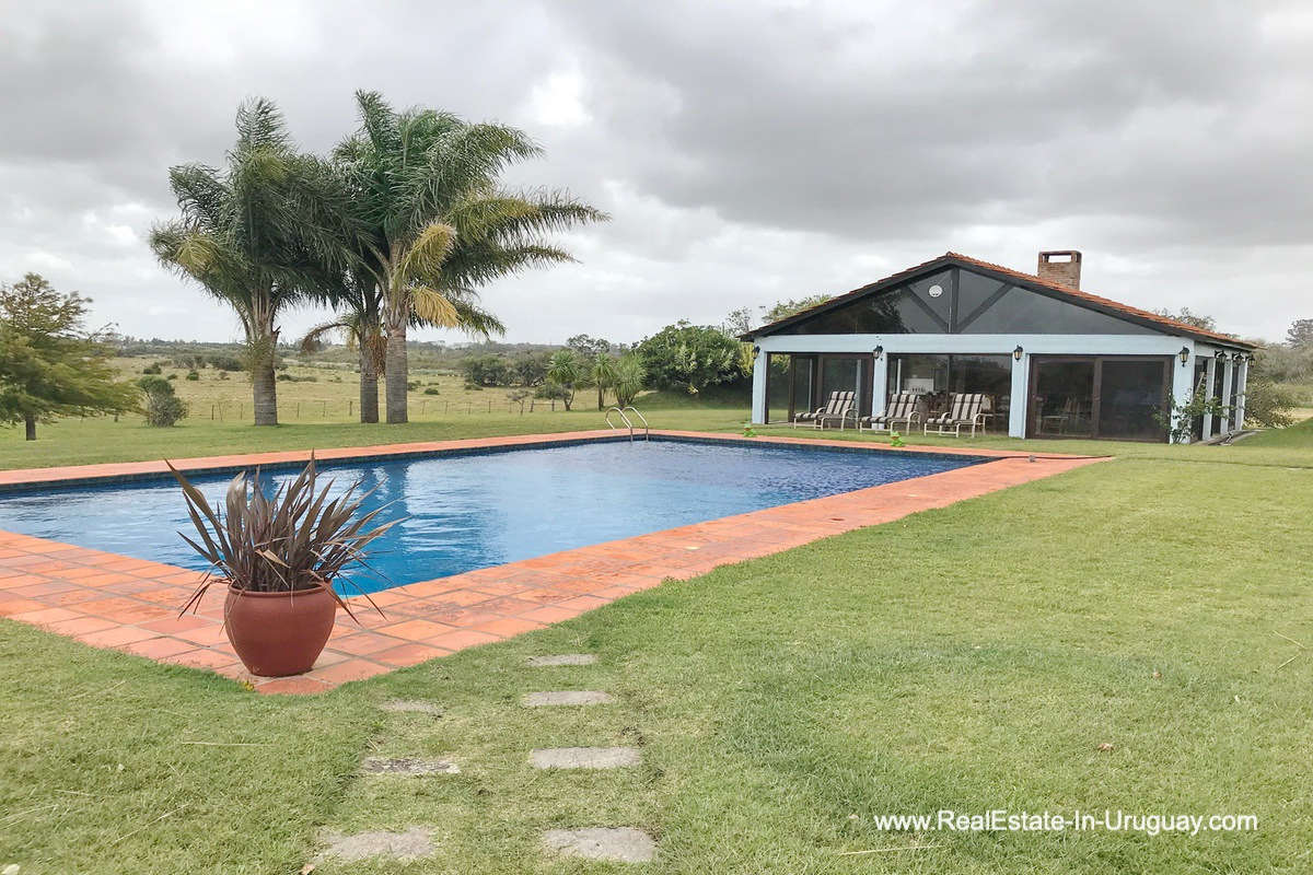 Pool of Estancia along the Jose Ignacio River