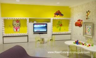 Kids Room of YOO Apartment on a High Floor with Ocean Views in Punta del Este