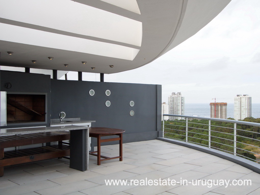 Penthouse in Central BBQ of Location in Punta del Este