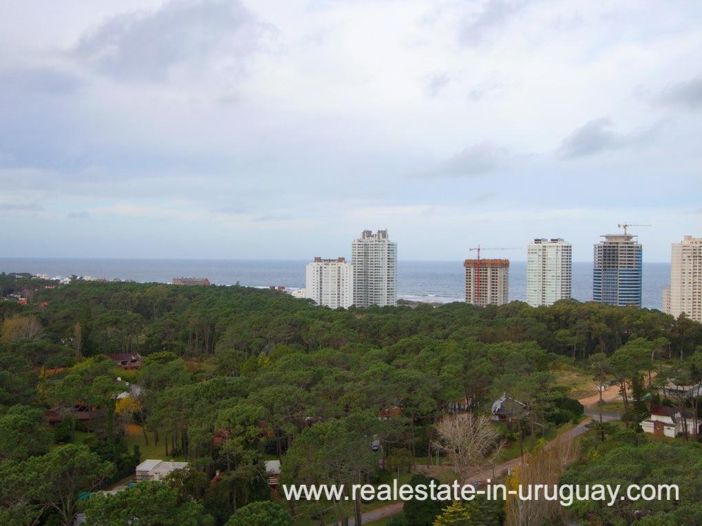 Views of Penthouse in Central Location in Punta del Este