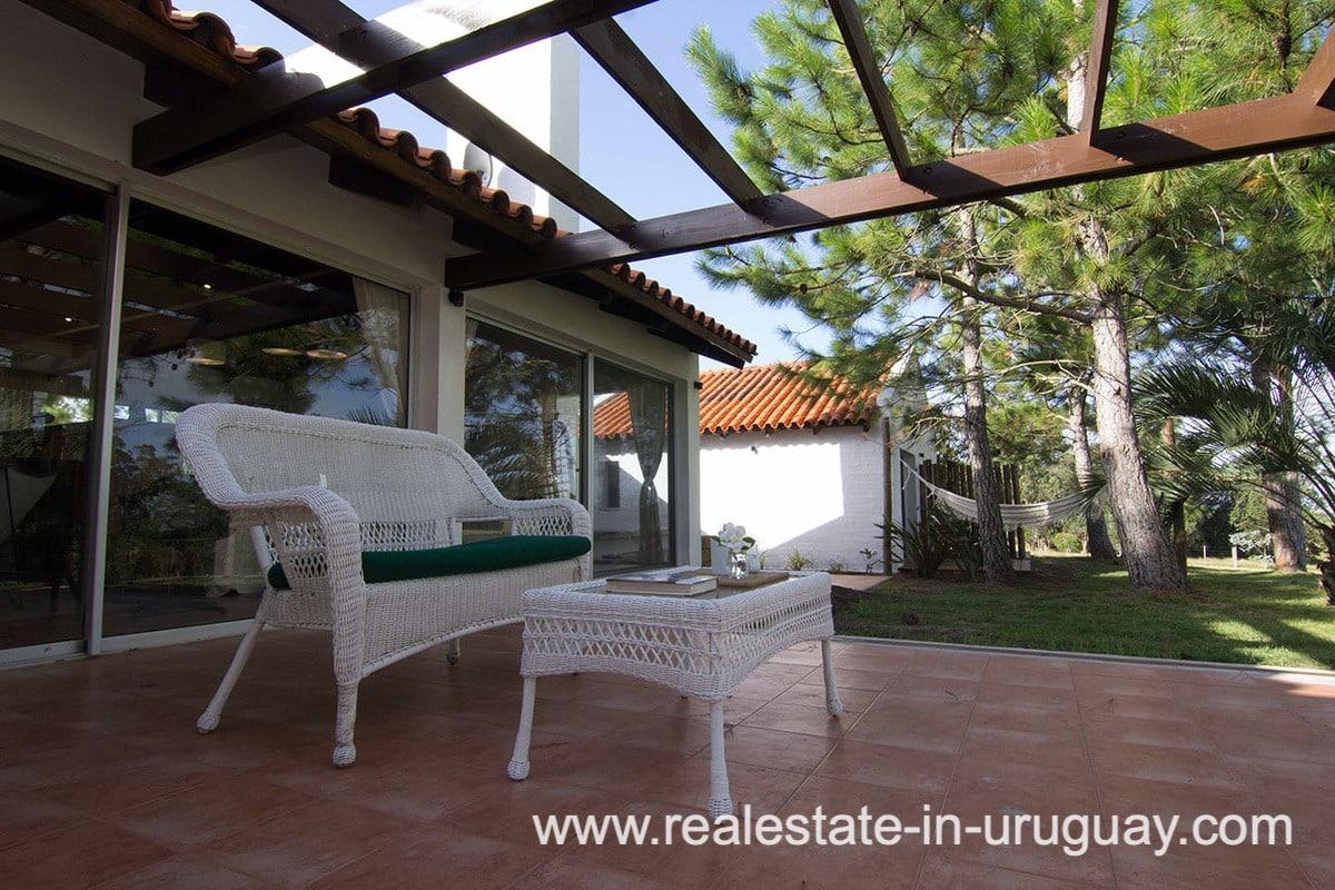 Terrace Countryside Property between Jose Ignacio and Garzon