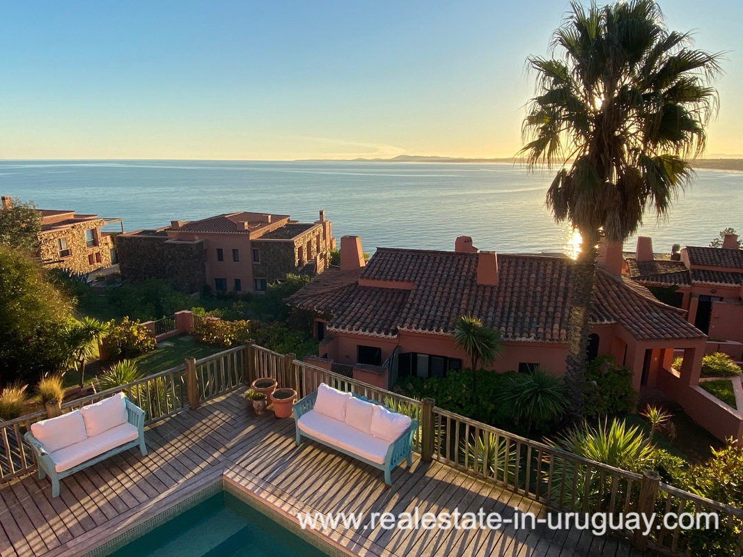 Views of Spectacular Remodeled House in Punta Ballena