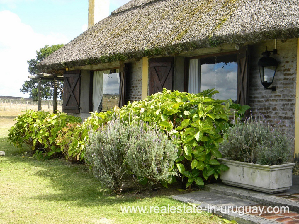 House Entrance of Farm with 95 Hectares just 15 Minutes from Jose Ignacio