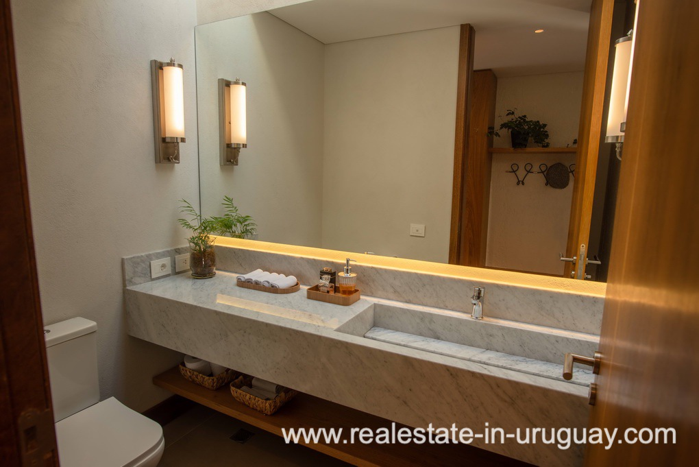 Guest Toilet of Modern and Style combined with Country Views in Pueblo Mio by Manantiales