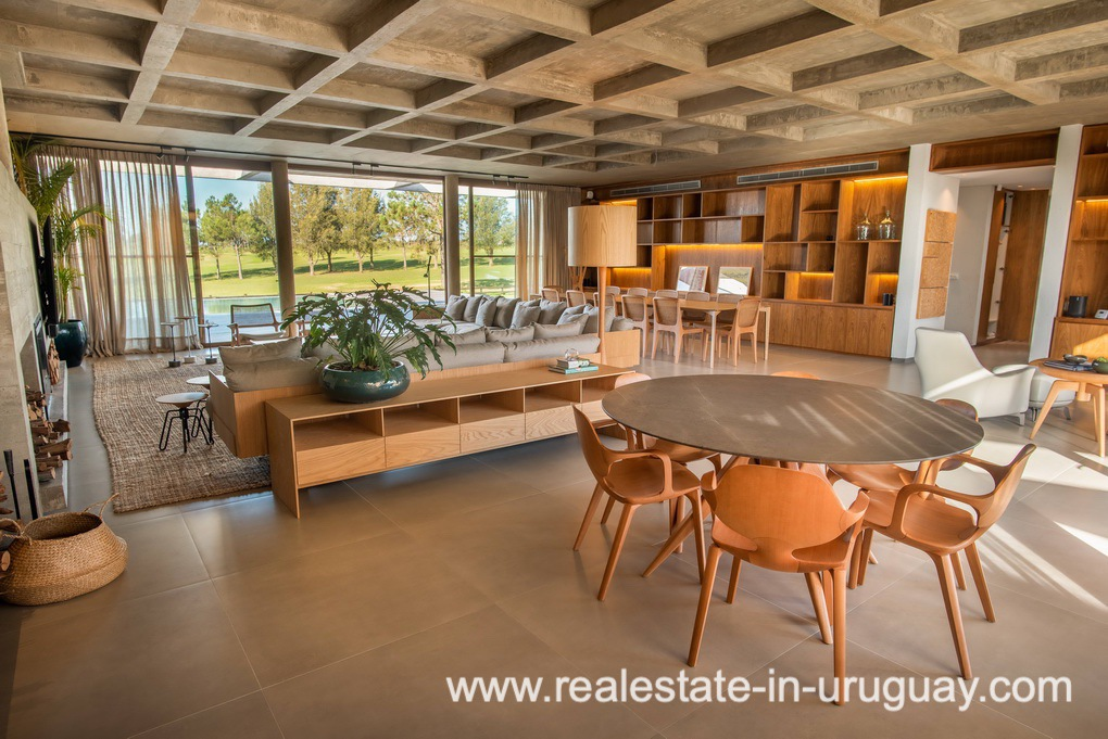 Living 2 of Modern and Style combined with Country Views in Pueblo Mio by Manantiales