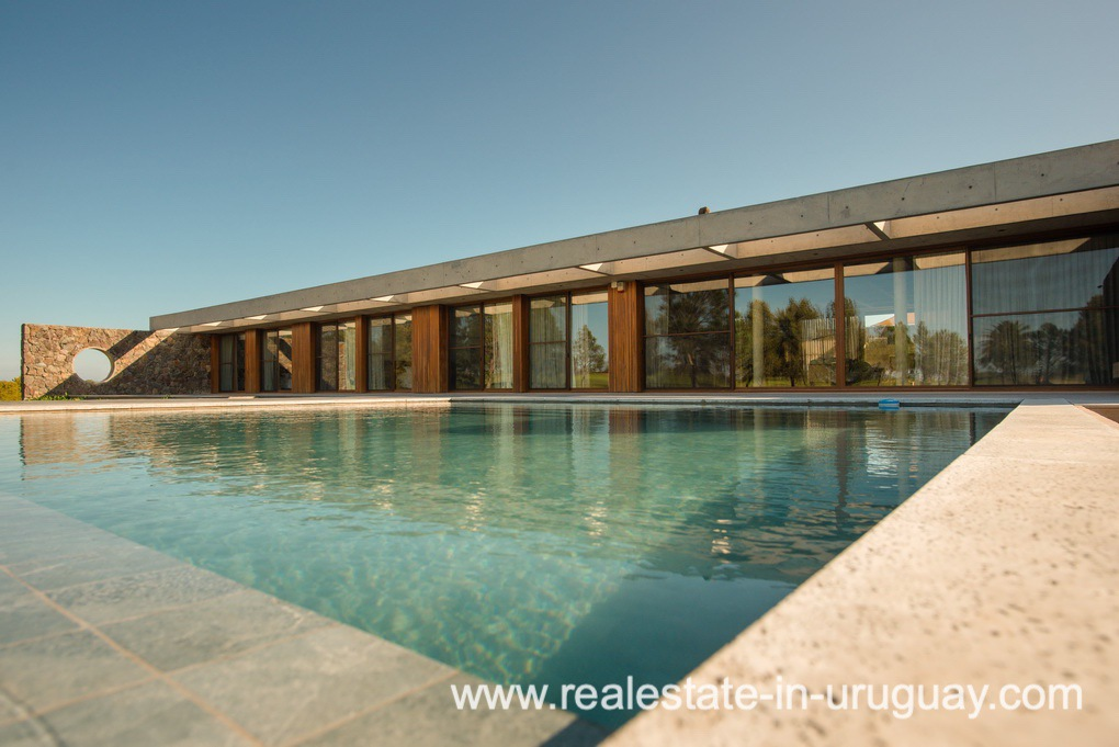 Pool 2 of Modern and Style combined with Country Views in Pueblo Mio by Manantiales