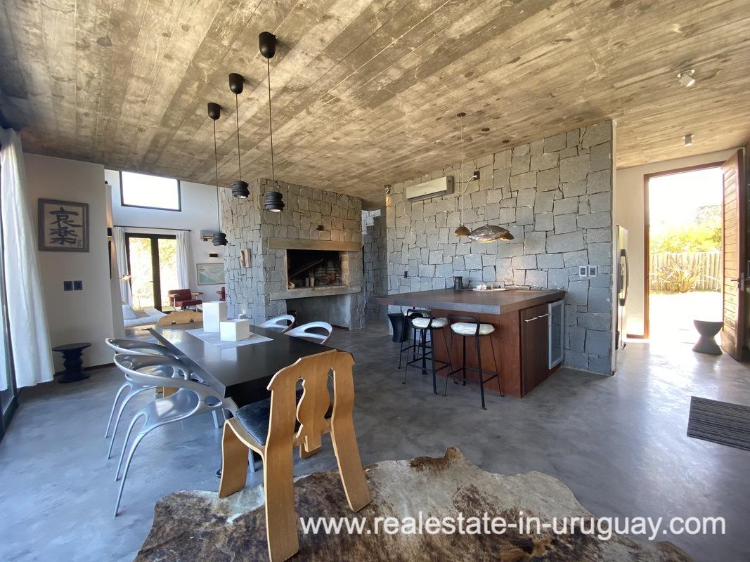 Kitchen of Design Home in San Antonio near La Pedrera on the Beach