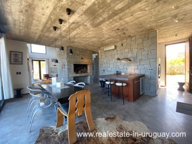 Kitchen of Design Home in San Antonio near La Pedrera on the Beach