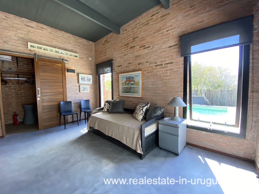 Guest room of Design Home in San Antonio near La Pedrera on the Beach