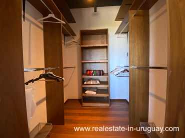 Walkin Closet of Design Home in San Antonio near La Pedrera on the Beach