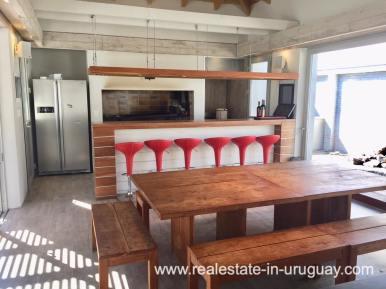 BBQ of Home on the Mansa in Punta del Este