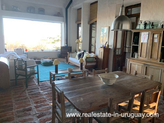 Living of Finca off Camino Medellin near Santa Monica and Jose Ignacio