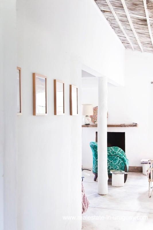 Hallway of Cute Little House in Trendy Gourmet Town Garzon