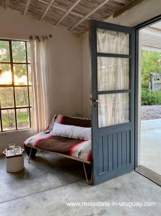 Living of Cute Little House in Trendy Gourmet Town Garzon