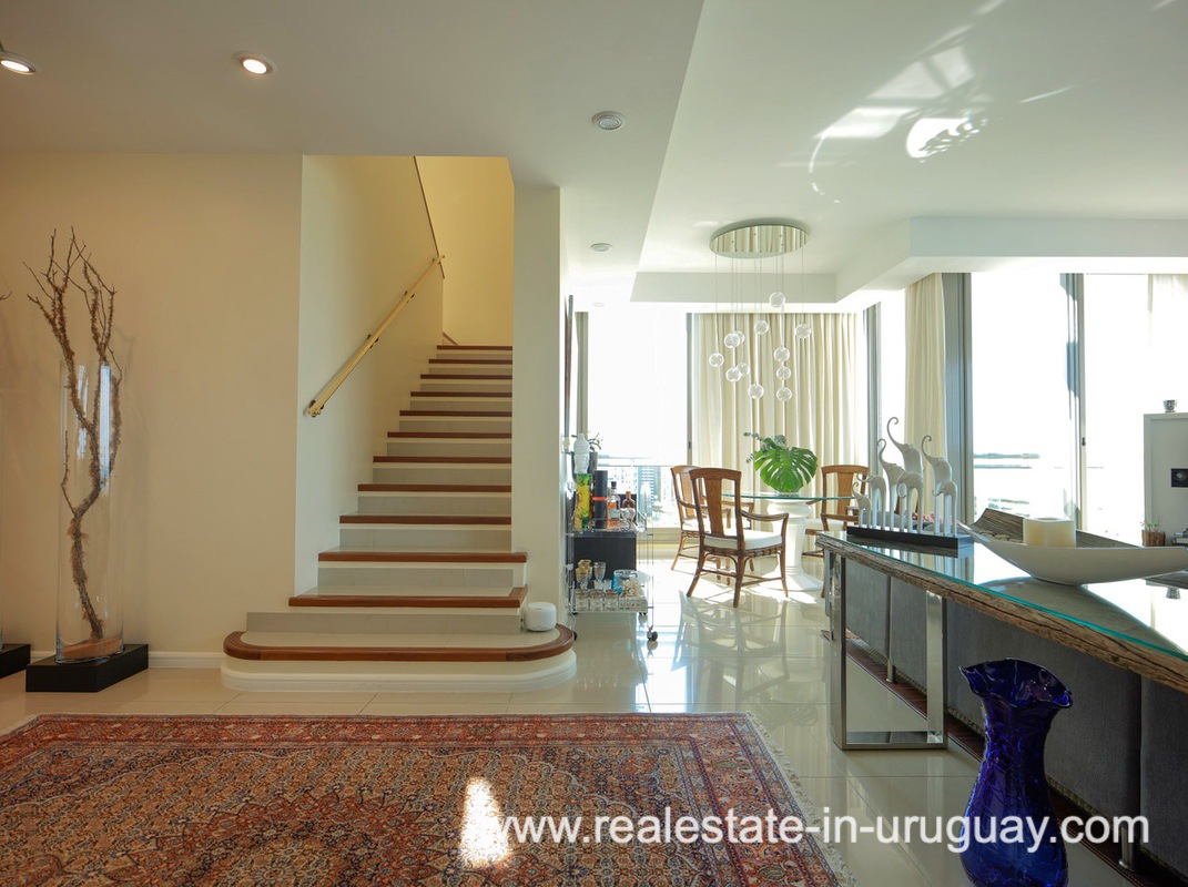 Staircase of Penthouse near the Peninsula in Punta del Este