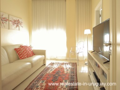 TV Room of Penthouse near the Peninsula in Punta del Este