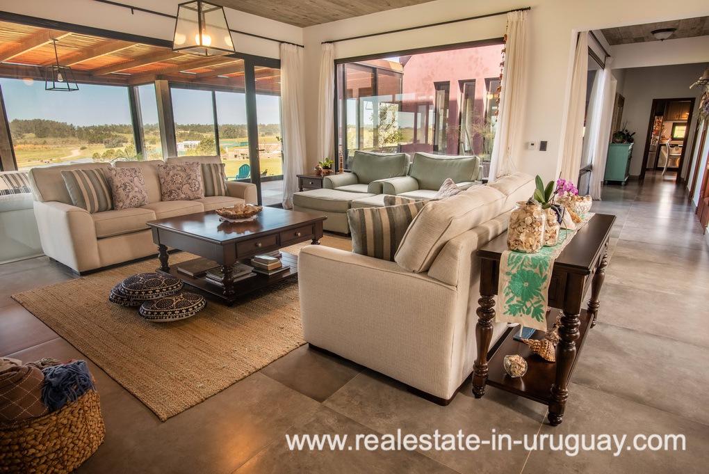 Living Area of Pueblo Mio by La Barra Golf
