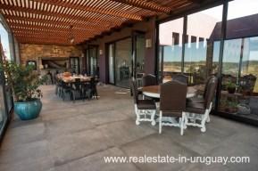 Terrace of Pueblo Mio by La Barra Golf
