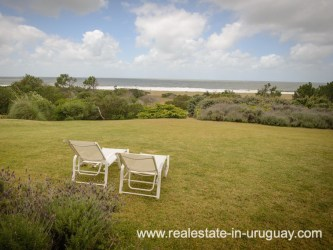 Garden of Beach Property in La Carolina