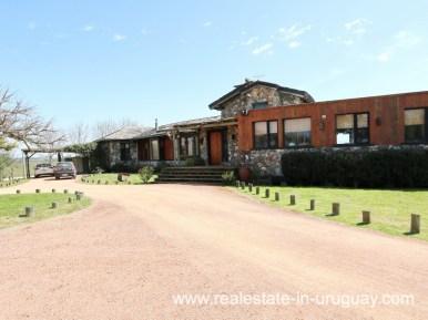 Entrance of Farm House in El Quijote near Fasano and La Barra