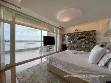 6854 Modern House on Laguna del Sauce - Bedroom7