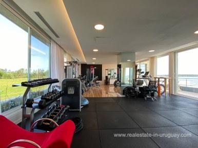 6854 Modern House on Laguna del Sauce - Gym