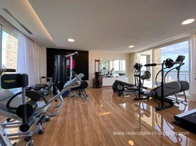 6854 Modern House on Laguna del Sauce - Gym2