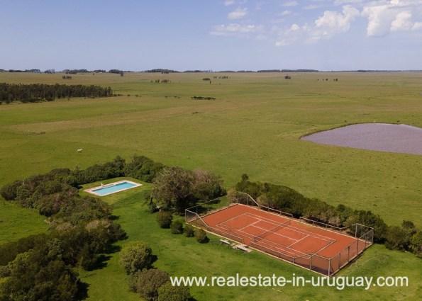 Estancia near La Pedrera Rocha Uruguay