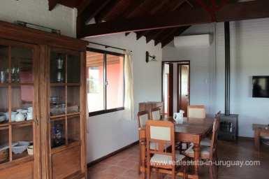 Dining Area of Amazing Country Property between Pueblo Eden and Minas