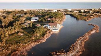 From Above Mario Connio House on the Lagoon near Jose Ignacio