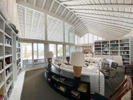 Living Room of Mario Connio House on the Lagoon near Jose Ignacio