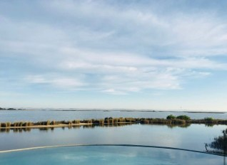 Views of Mario Connio House on the Lagoon near Jose Ignacio