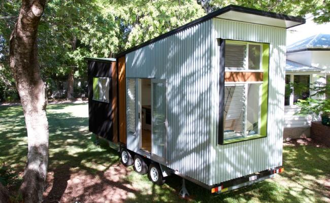Tiny House Design On Display At Brisbane Home Show
