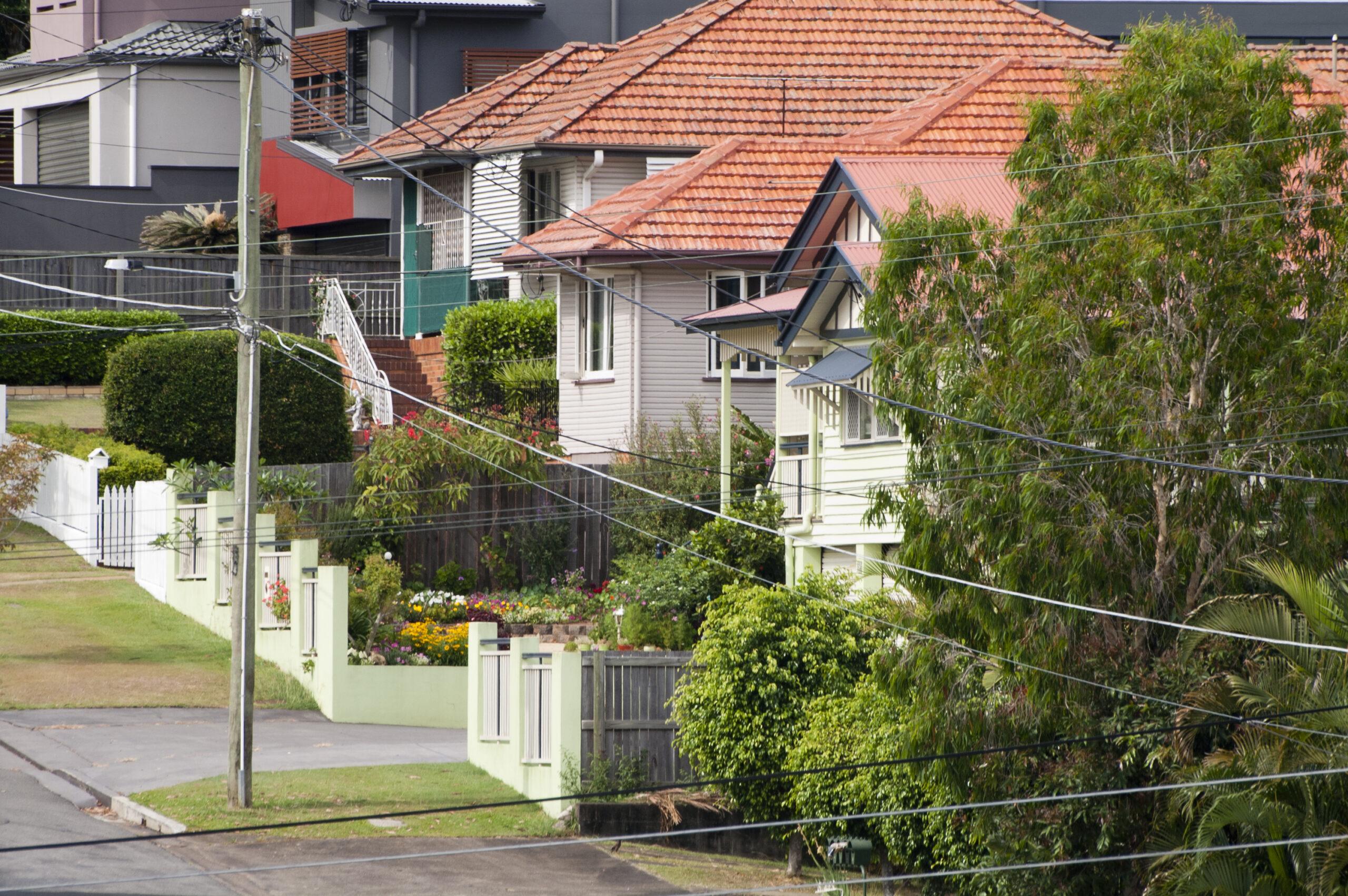 streetscape Brisbane