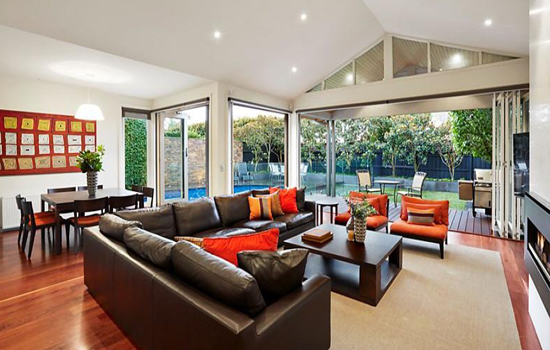 home decorating ideas for rectangular living rooms mixing furniture styles room how to furnish a realestate com au open plan