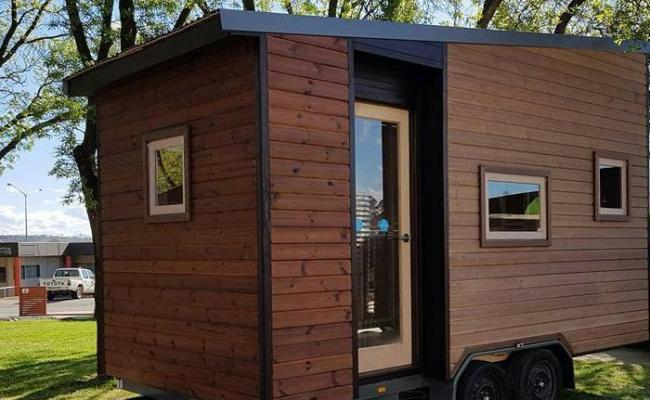 Perth Mum Builds Mobile Tiny Home To Avoid Renting
