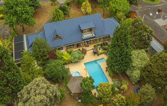 This five-bedroom Rowville home sold for $2.07m