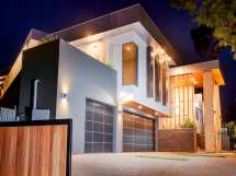 Double Storey House Front Design And
