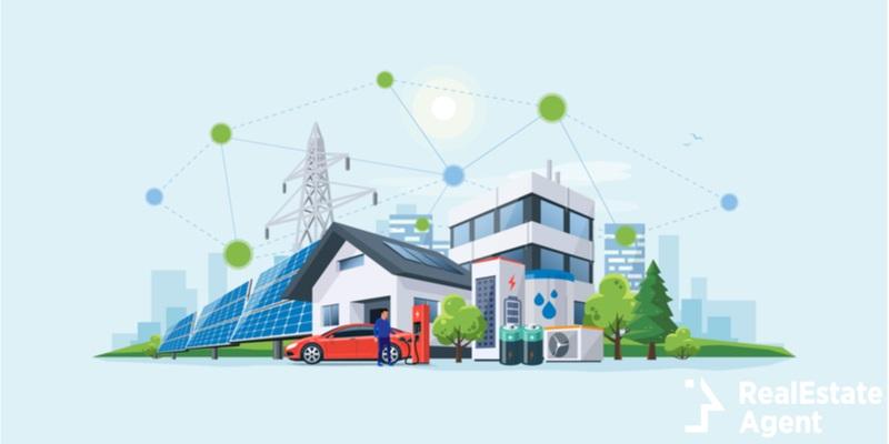 smart renewable energy power grid
