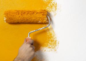 Orange Painted Roll