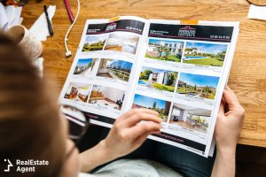 real estate marketing print advertising