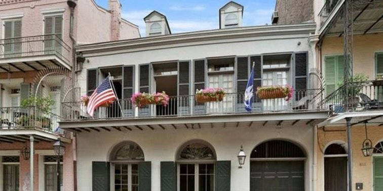 The New Orleans house