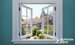 swinging windows