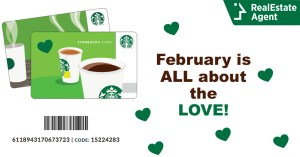 Sharing The Love Campaign Starbucks Gift Card